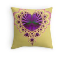 Heartistic License Throw Pillow