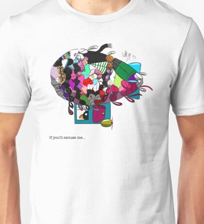 Hippo's Bra/Pantie Blimp Unisex T-Shirt