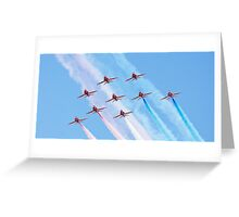The 2010 Red Arrows Greeting Card