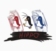 Hippo the Penguin! Baby Tee