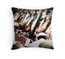 Le Boucher  Throw Pillow