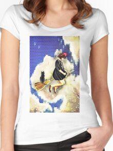 Kiki and Jiji  Women's Fitted Scoop T-Shirt