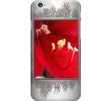 Amaryllis named Black Pearl iPhone Case/Skin