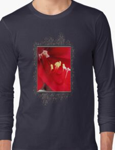 Amaryllis named Black Pearl Long Sleeve T-Shirt