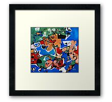 Homage to Henri II Framed Print