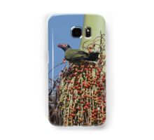 A male fig bird Samsung Galaxy Case/Skin