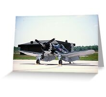 Vought F4-U Greeting Card