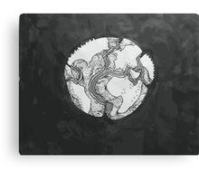 Tectonic Plates Canvas Print