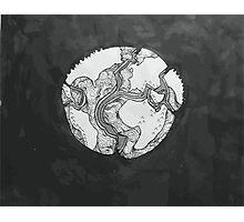 Tectonic Plates Photographic Print