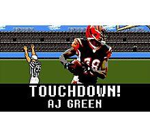 Tecmo Bowl AJ Green Photographic Print