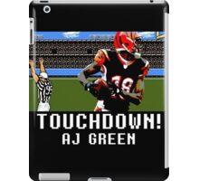 Tecmo Bowl AJ Green iPad Case/Skin