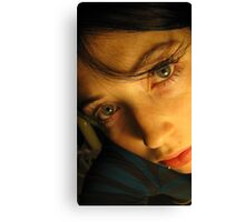 In a Single Look Canvas Print
