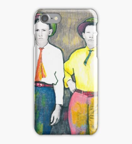 Bill and Pete Posing iPhone Case/Skin