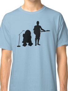 R2D2 C3PO Rock Band Classic T-Shirt
