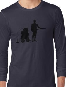 R2D2 C3PO Rock Band Long Sleeve T-Shirt