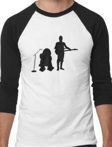 R2D2 C3PO Rock Band Men's Baseball ¾ T-Shirt