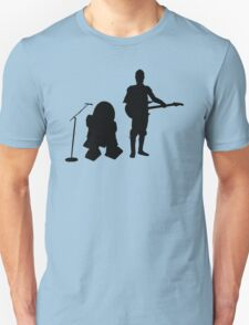 R2D2 C3PO Rock Band T-Shirt
