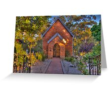St John's Anglican Church Pinjarra Greeting Card