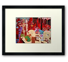 Homage to Henri I Framed Print