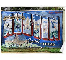 Welcome To Austin Poster
