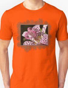 Tricyrtis Formosana named Empress Unisex T-Shirt