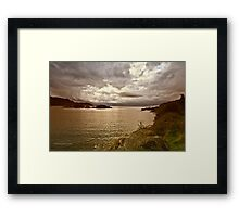 The Jacobites Last Stand (Loch Arkaig, Lochaber, Highland Council, Scotland) Framed Print