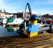 Fishing in the Brayford by HRLambert