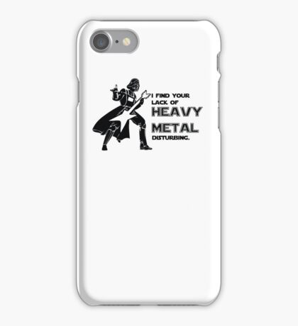 Darth Vader Heavy Metal iPhone Case/Skin