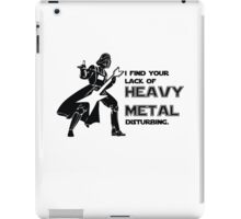 Darth Vader Heavy Metal iPad Case/Skin