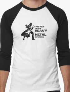 Darth Vader Heavy Metal Men's Baseball ¾ T-Shirt