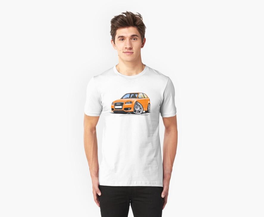 Audi S3 (Mk2) Orange by Richard Yeomans
