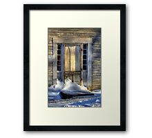 Lonely Days and Lonely Nights Framed Print