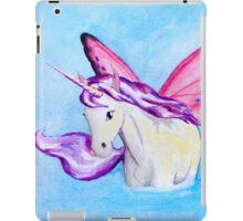 Purple Fairy Unicorn where Water Meets Sky iPad Case/Skin