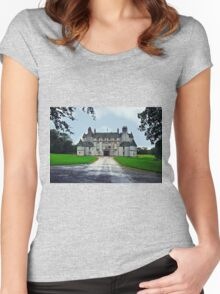 Leith Hall (Huntly, Aberdeenshire, Scotland) Women's Fitted Scoop T-Shirt