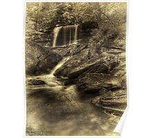 B. Reynolds Falls (faux vintage) Poster