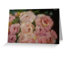 Flowers And Insects Greeting Card