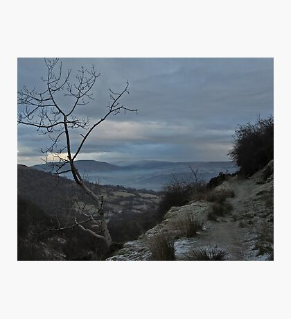 Down in the valley - Cordell's Garndyrus Photographic Print