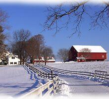Pastoral Winter Wonder by Wes Clemmer
