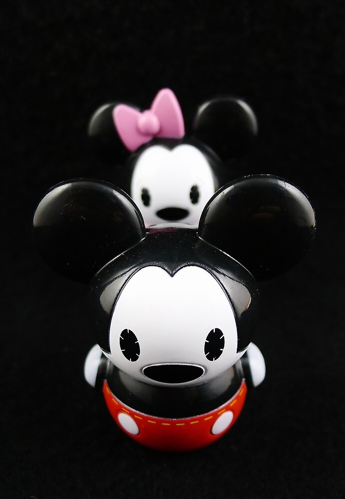 Behind Every Great Mouse... by Barbara Morrison