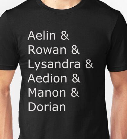 Queen of Shadows darlings Unisex T-Shirt