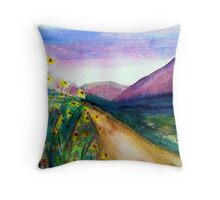 Serenity Road... Throw Pillow