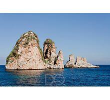 Faraglioni di Scopello - Sicilia Photographic Print