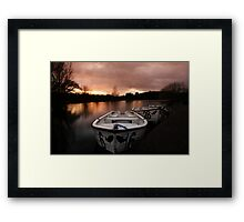 Number 6 Framed Print