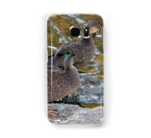 Preening Ducks Samsung Galaxy Case/Skin