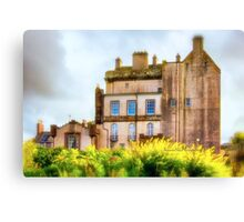 Delgatie Castle (near Turriff, in Aberdeenshire, Scotland) Canvas Print