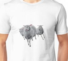 Sheep on the Hunt Unisex T-Shirt