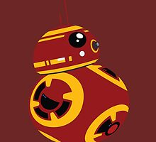 BB8 (IronMan Coloring) by Woody2015