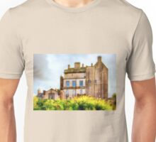 Delgatie Castle (near Turriff, in Aberdeenshire, Scotland) Unisex T-Shirt
