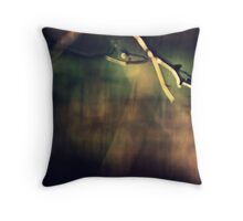 The colors change Throw Pillow