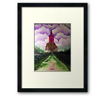 TORIES ENCHANTED CASTLE Framed Print